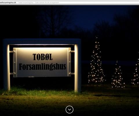Tobøl Forsamlingshus - Forside
