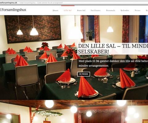 Tobøl Forsamlingshus - Lille Sal